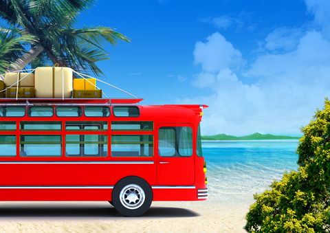 http://www.dreamstime.com/stock-photography-red-bus-adventure-beach-image20735372
